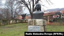 Споменикот на Ибе Паликуќа.