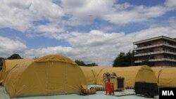 Модуларната болница кај Клиника за инфективни болести во Скопје