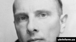 Украинский политический деятель Степан Бандера. Репродукция фото из семейного альбома.