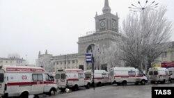 Після вибуху на вокзалі у Волгограді, Росія, 29 грудня 2013 року
