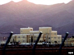 A 2005 file photo of the Natanz nuclear-enrichment plant in central Iran.