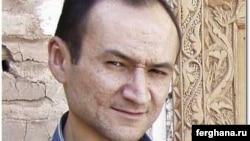 Джамшид Каримов, өзбекстандық тәуелсіз журналист.