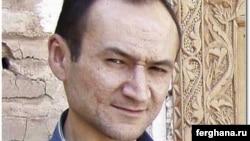 Журналист Жамшид Каримов.