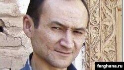 Өзбекстандық тәуелсіз журналист Джамшид Каримов.