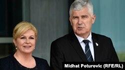 Dragan Čović, član predsjedništva BIH predsjednica Hrvatske, Kolinda Grabar-Kitarović