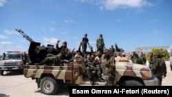 Pripadnici Libijske narodne armije