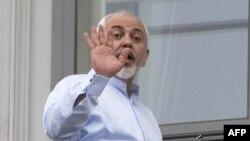 Министр иностранных дел Ирана Мохаммад Джавад Зариф в Вене, 13 июля 2015 года.