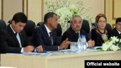 Конгресс новой туркменской Партии промышленников и предпринимателей. Ашгабат, 21 августа 2012 года.