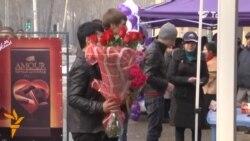 أخبار مصوّرة 14/02/2014: من الاشتباكات خلال احتفالات عيد الحب يوم الى أسعار الزهور في الصعود في طاجيكستان