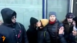 Gay-Rights Activists Scuffle With Police Outside Duma