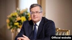 Լեհաստանի նախագահ Բրոնիսլավ Կոմորովսկի