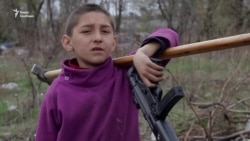 Неизвестные подожгли ромский лагерь в Киеве (видео)