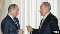 В рамках визита запланирована встреча президентов России и Казахстана