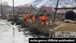Подтопление в Алтайском крае