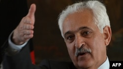 Afghanistan's national security adviser Rangin Dadfar Spanta
