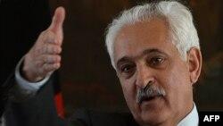 Afghanistan's national security adviser Rangin Dadfar Spanta