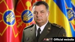 Міністар абароны Ўкраіны Сьцяпан Палтрак