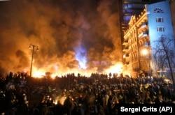 Революція гідності. Київ, 25 січня 2014 року