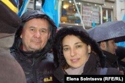 Крымский татарин Осман с женой-украинкой