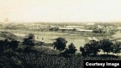Vedere a orașului Slobozia la începutul secolului XX (Foto: Public domain)