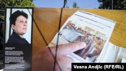 "Izložba ""Nestali životi"" u Beogradu, 24. avgust 2010."