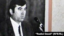 Эмомалӣ Раҳмон дар соли 1992
