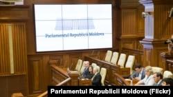 Moldova -- Parliament session generic, 12Jul2019