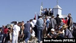 Metalna crkva na Rumiji godinama je bila izvor sukoba SPC i CPC
