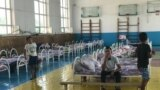 Kazakhstan – An evacuation point at school #87 in Shymkent. 25June2019