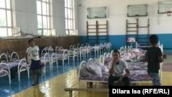 Арыс тұрғындары Шымкенттегі эвакуациялық бекетте