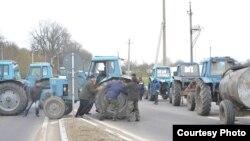 Protestul fermierilor la Soroca. Foto Vadim Șterbate