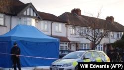 Дом на юго-западе Лондона, где 12 марта был убит Глушков.