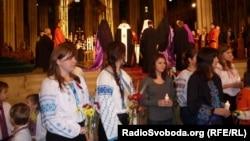 Вшанування роковин Голодомору, Нью-Йорк, собор Св. Патрика, 19 листопада 2011 року