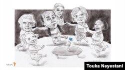 سوسن فرخنیا و مهمانانش/ کاری از توکا نیستانی