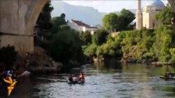 27.07.2015 - Скок од мостот во Мостар, судење, протести