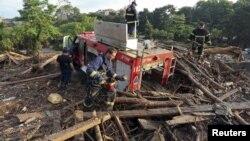 Վրաստան - Ջրհեղեղի հետևանքները Թբիլիսիում, 14-ը հունիսի, 2015թ․