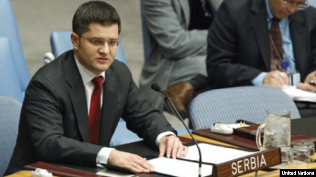Could Vuk Jeremic be angling for the UN's top spot?