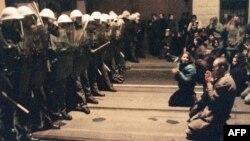 Nenasilna revolucija u Češkoj, Baršunasta revolucija, Prag, novembar 1989.