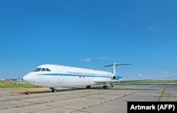Самолет Rombac Super one-eleven. Это один из девяти самолетов этой модели, произведенных в Румынии.