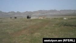 Стрельбище возле г. Гюмри, используемое российскими войсками, 8 апреля 2013 г.