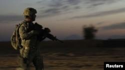 Патрола на американски војник во покраината Кандахар