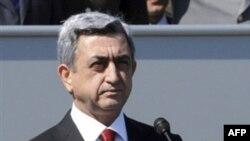 Armenian President Serzh Sarkisian