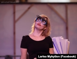 Лариса Микитьон – актриса ветенарнсько-волонтерського театру