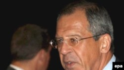 Sergei Lavrov also called on the West to recognize Georgia's breakaway regions.