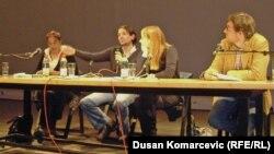 Olivera Milosavljević, Milivoj Bešlin, Irena Javorski i Srdjan Milošević