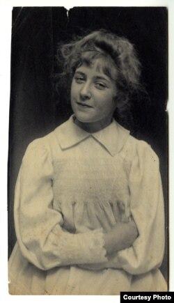 Агата Кристи в молодости