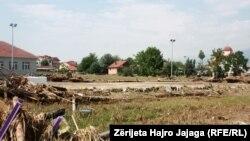 Pasojat e vërshimeve në Shkup