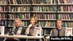 Сулдан уңга: Марина Мартынова, Елена Филиппова, Ольга Подлесных