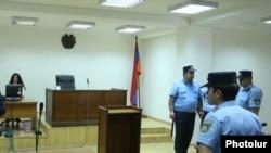 Armenia - A courtroom in Yerevan, 8Jun2017.