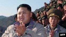 Президент Северной Кореи Ким Чен Ын.